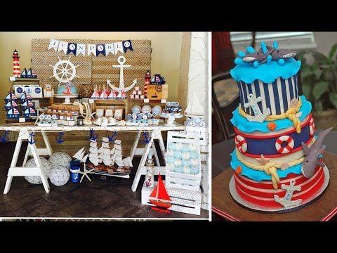 حفلة عيد ميلاد القبطان اجمل لافكار لتجهيز لحفلات القبطان والحفلات البحرية Youtube Birthday Youtube Diaper Cake