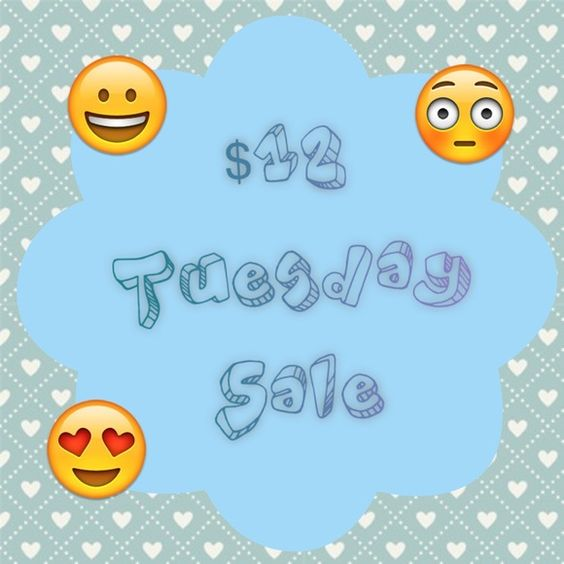 Please Read Happy Tuesday  Ladies  Happy Monday!!! All Sale items are marked down to just $12 today only.                   Please feel free to like this post to get updates on my closet sales throughout the week❤️ Other