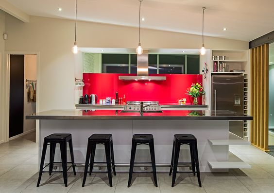 Kitchen designed for one of New Zealand's Olympic Champions! by Heather Wood CKDNZ