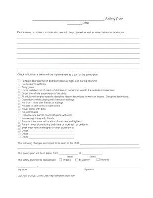 Printables Safety Plan Worksheet foster care photos and worksheets on pinterest printable safety plan worksheet