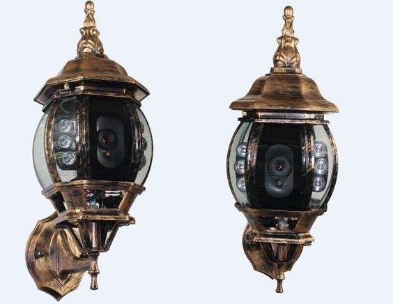 Security Camera In Outdoor Light Fixture. Https Www Pinterest Com Pin  469289223647913432