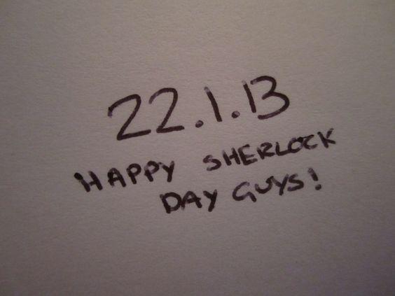 January 22, 2013 = 221B
