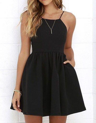 Cute Prom Dress,Short Prom Dresses,Black Prom Dress