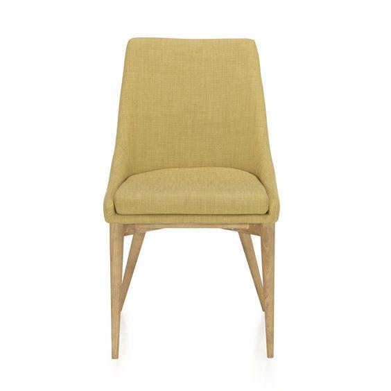 chaise en h v a et fr ne vert esprit scandinave vert abby chaises tables et chaises. Black Bedroom Furniture Sets. Home Design Ideas