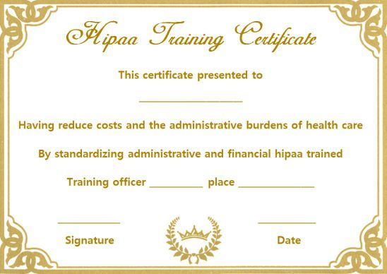Create Awesome Training Certificate Templates Ready To Use