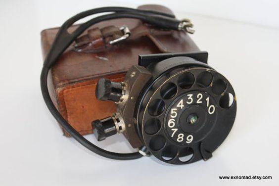Antique Rotary Telephone w