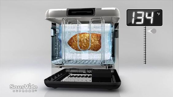 The snobs crockpot. Looks cool, I want one! SousVide Water oven