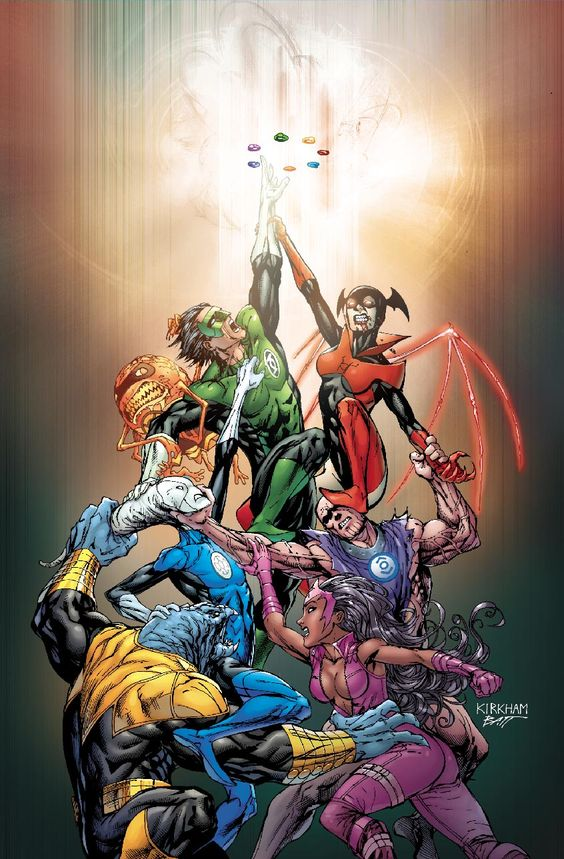 Tyler Kirkham - Green Lantern Guardians