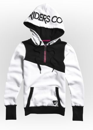 Girls Hoodies & Pullovers - Cornered Pullover Hoody #FoxRacing #FoxHead #FoxGirls #Hoody