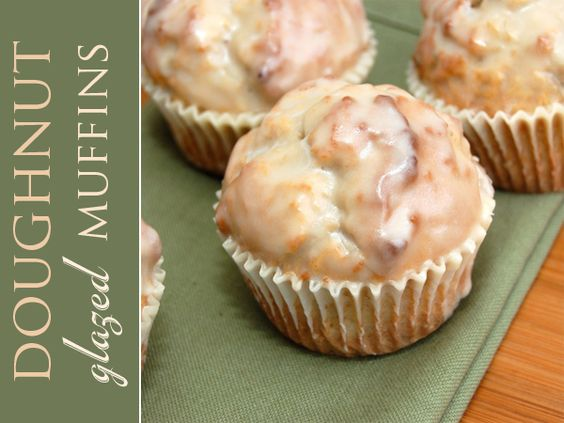 Glazed Doughnut Muffins (actually links to recipe)