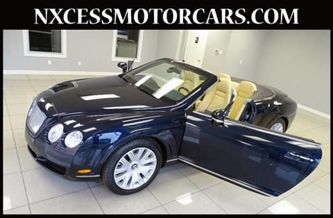 bentley gt auto used continental gtc car convertible history full sale for gloucestershire in cheltenham