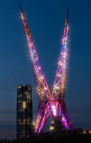 """Oklahoma City SkyBridge.  Everytime I pass I wonder """"what the hell is this supposed to be?"""""""