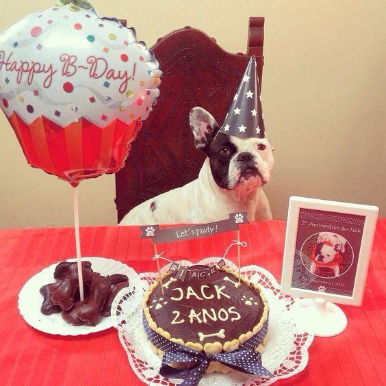 Jack #pupcake #dogbakery #petbakery #boloparacão #barkday #pawty #frenchie #frenchielovers #frenchbulldog www.ninamaria.pt
