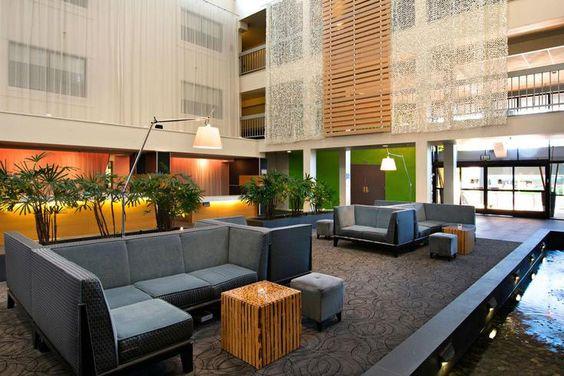 The Domain Hotel - Gotta love the indoor water feature! Stash Hotel Rewards