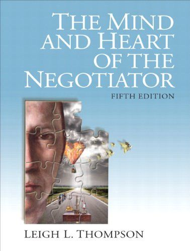 To learn more about how to negotiate under an ultimatum, play the ultimatum game with a friend found on page 289  The Mind and Heart of the Negotiator (5th Edition) by Lei...
