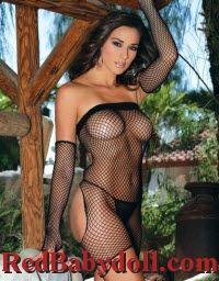 Industrial Mesh Strapless Black Jezebel Skimpy Dress