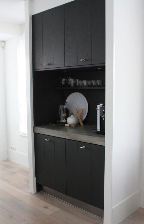Coffee Corner Rustic Modern And Modern Kitchens On Pinterest