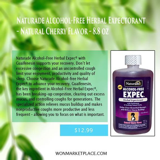 Naturade Alcohol-Free Herbal Expec® with Guaifenesin supports your recovery. Don't let excessive congestion and an uncontrolled cough limit your enjoyment, productivity and quality of sleep. #foodsupplement #healthcare #herbalmedicine