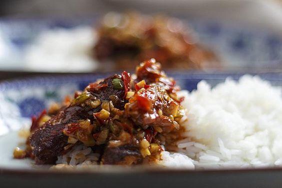 [chinesisch] Yu Xiang Dou Fu - Fischduft-Tofu | Foodina