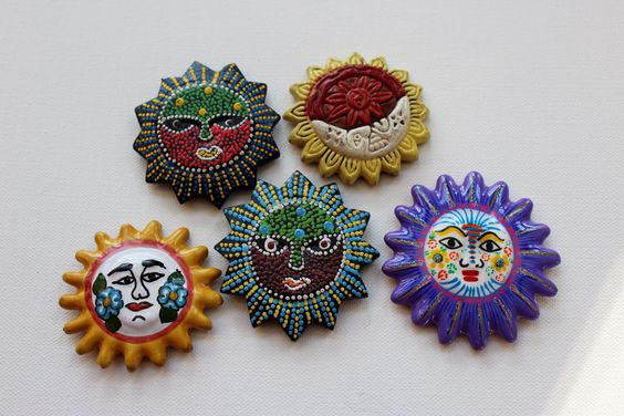 Picked up some sun from Mexcio. There were suns and masks everywhere