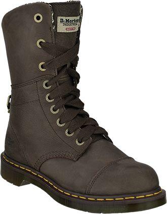 Women S Dr Martens 10 Steel Toe Work Boot R16781201 Steel Toe Work Boots Steel Toe Boots Women Boots
