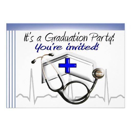 Nurse Graduation Party Invitations Zazzle – Zazzle Party Invitations
