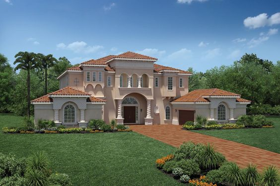 Merscille Mediterranean Design. FL. 5367 Sq.Ft.