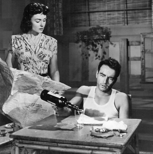 Montgomery Clift and Donna Reed in From Here to Eternity (1953). Lorene is such a ridadie chick, down for whatever.