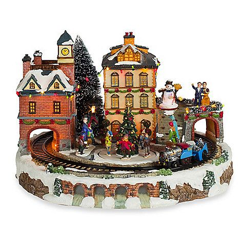 christmas train microfiber | Christmas Animations with Music