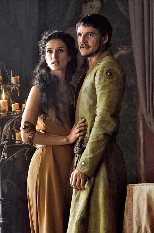 Pedro Pascal as Oberyn Martell and Indira Varma as Ellaria Sand,Daenerys will help to avenge his blood