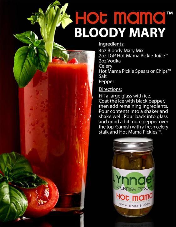Mama Bloody Mary Recipe | Bloody Mary | Pinterest | Bloody Mary