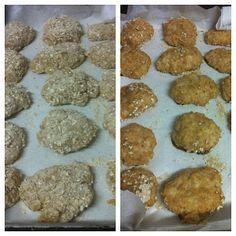 Nuggets caseiro - receita com aveia | Eu (Lele), ele e as crianças