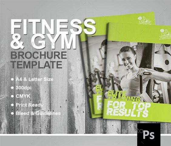 fully-editable-fitness-brochure-template 15+ Fitness Brochure - fitness brochure