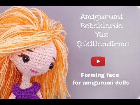 BD HOOK: Amigurumi Göz Yapımı - Amigurumi Make The Eyes (göz,kaş ... | 360x480