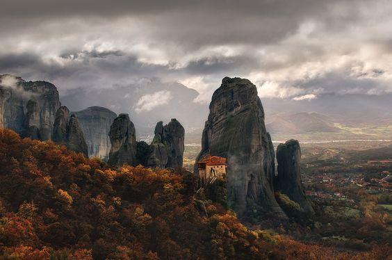 House on The Edge by Chris Kaddas #landscape #photography