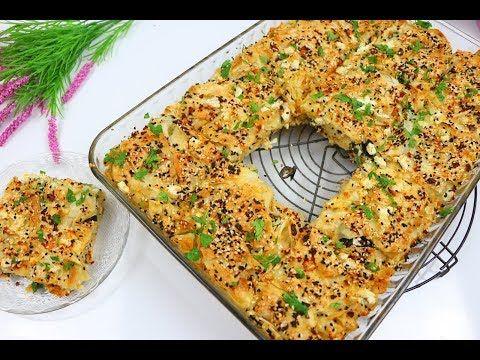أطيب والذ فطور صباحي برك تركية بالجبن طريقة سهلة واقتصادية مع رباح محمد الحلقة 755 Youtube Food Yummy Food Morning Breakfast