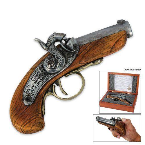 Abraham Lincoln Assassination Pistol Set. #steampunk #victorian #gadget #gosstudio #Pistol .★ We recommend Gift Shop: http://www.zazzle.com/vintagestylestudio ★