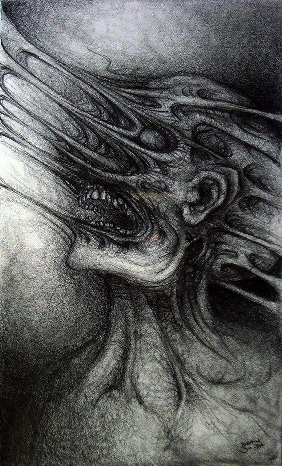Arte aterrador