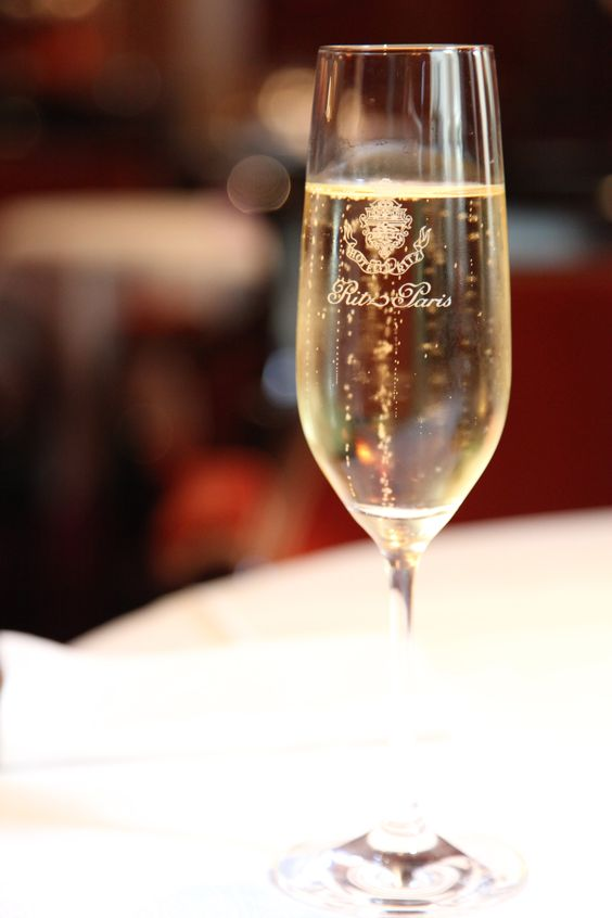 Hotel Ritz Paris. There's nothing quite like having some champagne at the Ritz.