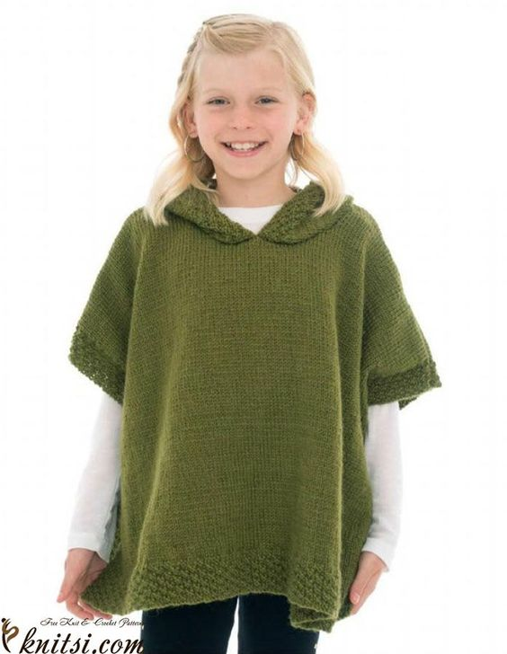 Free Knitting Pattern For A Poncho : Poncho knitting pattern Kristin Pinterest Knitting patterns, Knitting a...