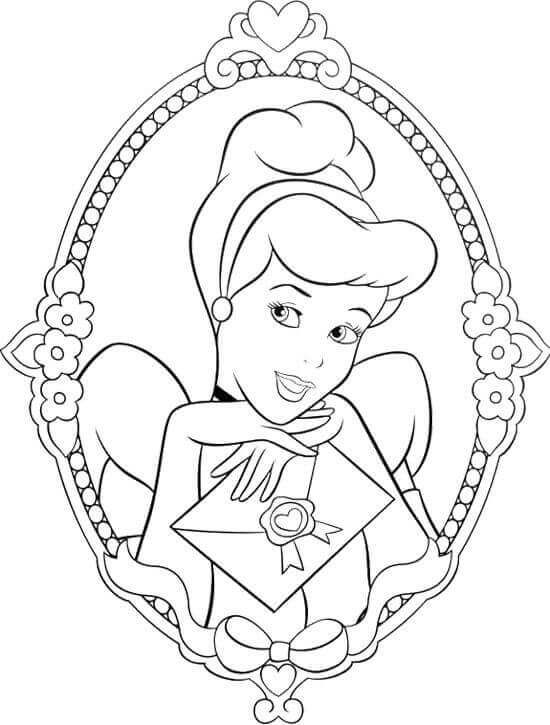 Free Cinderella Coloring Sheets To Print Cinderella Coloring Pages,  Cartoon Coloring Pages, Disney Princess Coloring Pages
