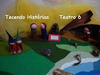 Brinquedos e Produtos com Inspiração WALDORF : Teatros de Mesa