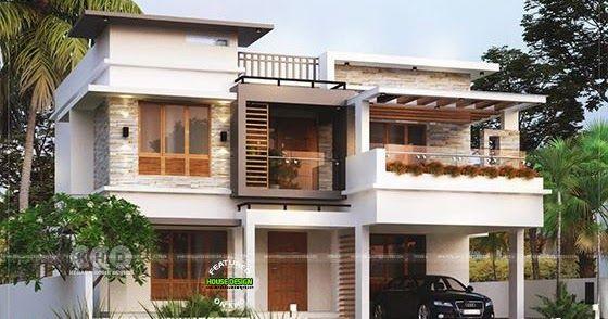 4 Bed Room Below 35 Lakhs Cost Kerala Home In 2020 Kerala House Design Kerala Houses Free House Plans