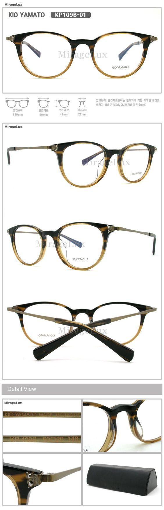 Kio Yamato Eyeglasses Frames : KIO YAMATO KP109B-01,02,03,04 Other Brand Favorite ...
