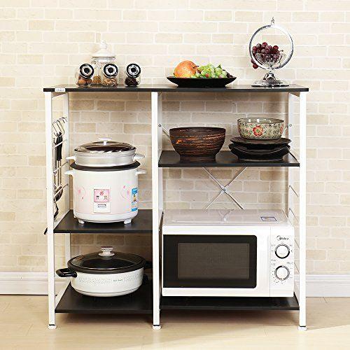 Thebestcarts Com Dland Home Microwave Cart Stand Elegant Design Modern Simple Fashion Fits All Kitchen Furniture Storage Kitchen Organization Kitchen Decor