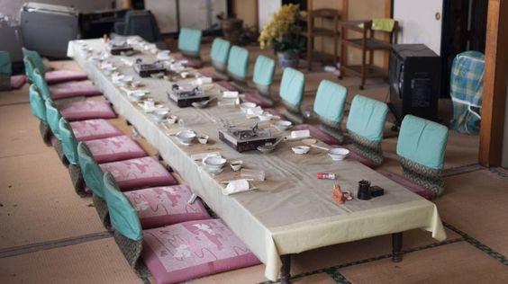 Da ulykken inntraff ble middagsbordet forlatt i all hast. Foto:Arkadiusz Podniesinski