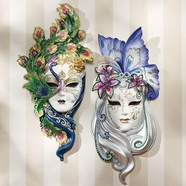 Girly tattoo inspiration. Masquerade masks are always a ...