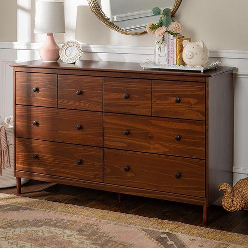Walker Edison Modern 6 Drawer Dresser