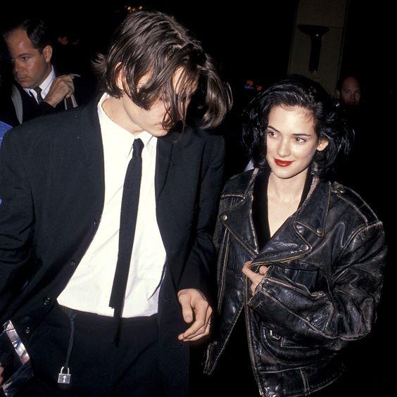Johnny Depp e Winona Ryder, 1990