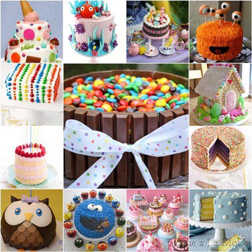 tartas de cumpleaos para nios childrenus birthday cakes